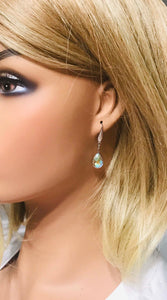 Rhinestone Dangle Earings - E19-129
