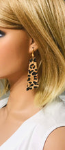 Load image into Gallery viewer, Leopard Cork Earrings - E19-135