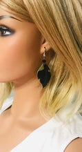 Load image into Gallery viewer, Hair On Camo Leather Earrings - E19-1606