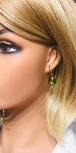 Load image into Gallery viewer, Multicolor Teardrop Glass Earrings - E19-161