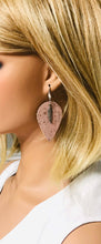 Load image into Gallery viewer, Portuguese Champagne Pink Cork Earrings - E19-172