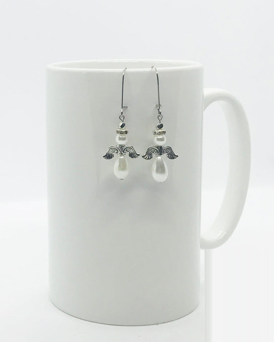 Glass Bead Earrings - E179