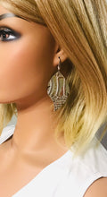 Load image into Gallery viewer, Genuine Leather Earrings - E19-183