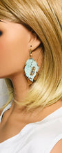 Load image into Gallery viewer, Driftwood and Suede Leather Earrings - E19-1980