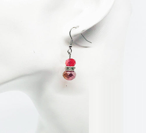 Glass Bead Earrings - E219