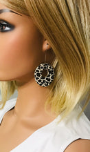 Load image into Gallery viewer, Genuine Cheetah Leather Earrings - E19-235