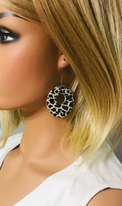 Genuine Cheetah Leather Earrings - E19-235