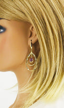 Load image into Gallery viewer, Teardrop Pendant Earrings - E19-2644