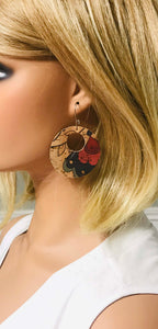 Portuguese Cork Earrings - E19-277