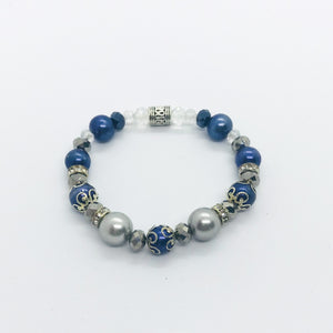 Glass Bead Bracelet - B309