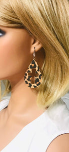 Leopard Cork Earrings - E19-359