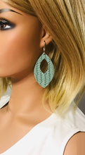 Load image into Gallery viewer, Genuine Italian Leather Earrings - E19-367