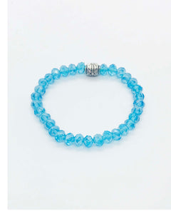 Glass Bead Stretchy Bracelet - B376