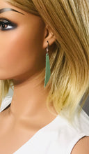 Load image into Gallery viewer, Genuine Leather Drop Earrings - E19-410