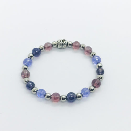 Glass Bead Bracelet - B413
