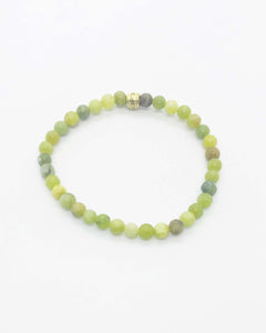 Glass Bead Stretchy Bracelet - B461