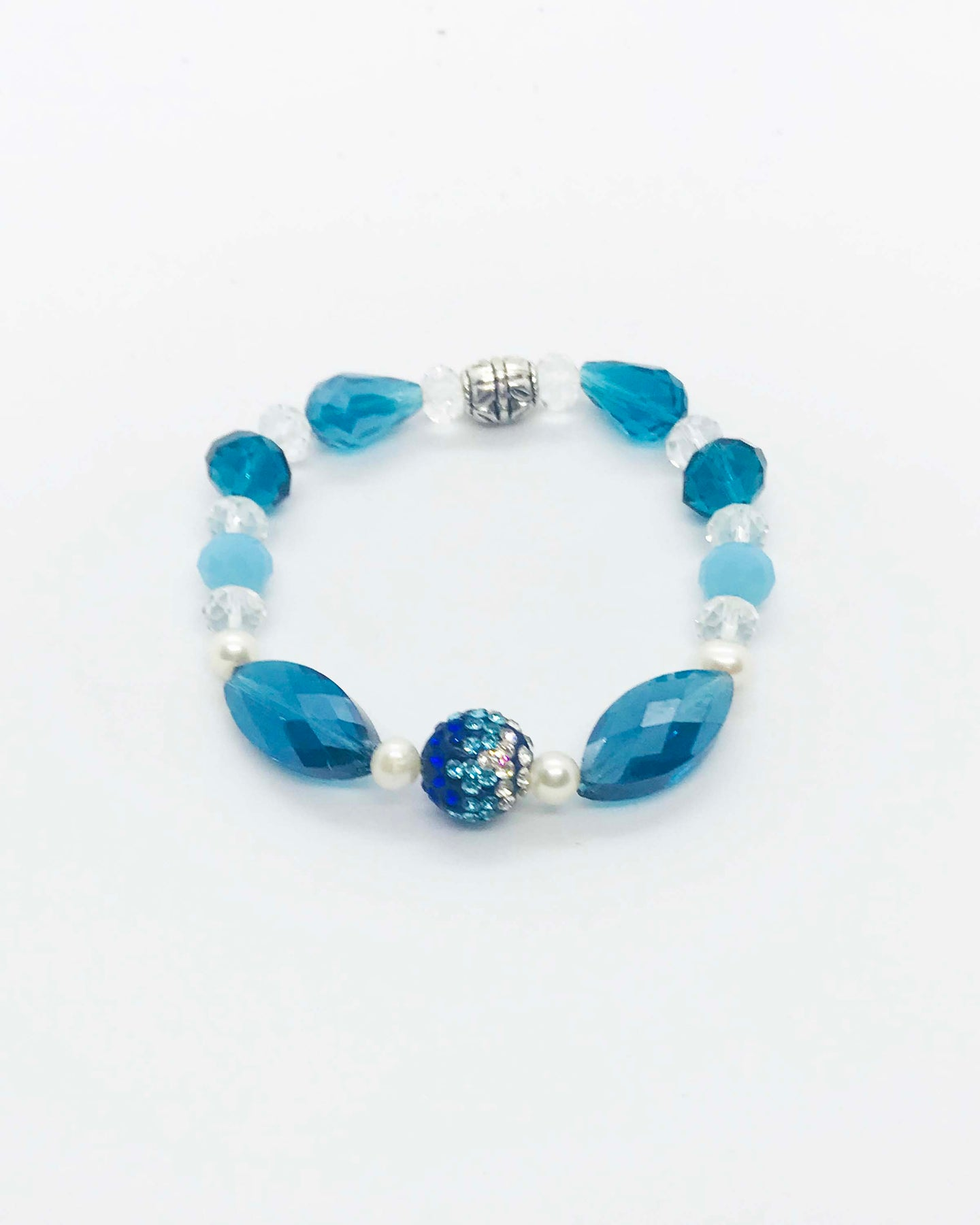 Glass Bead Bracelet - B547
