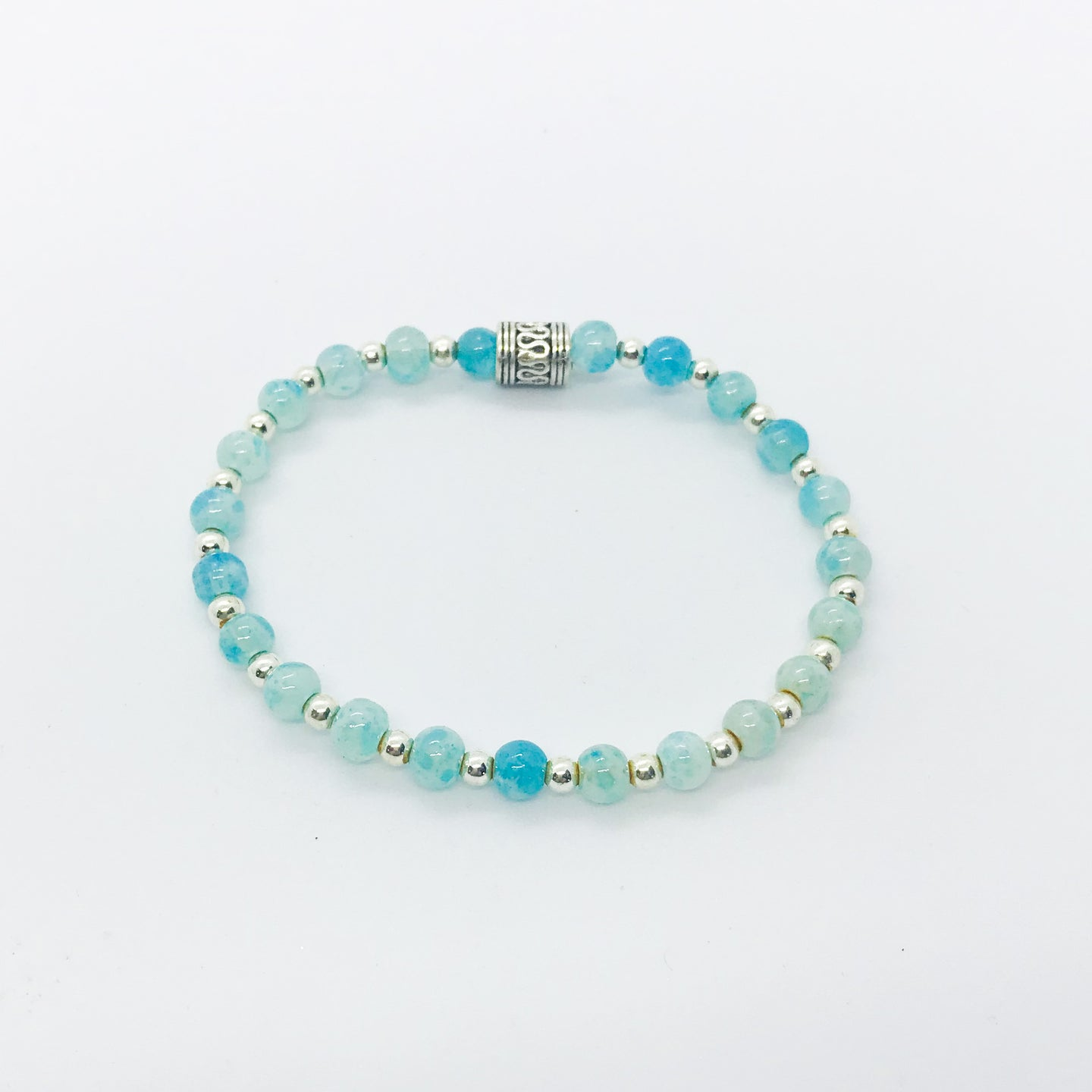 Glass Bead Bracelet - B556