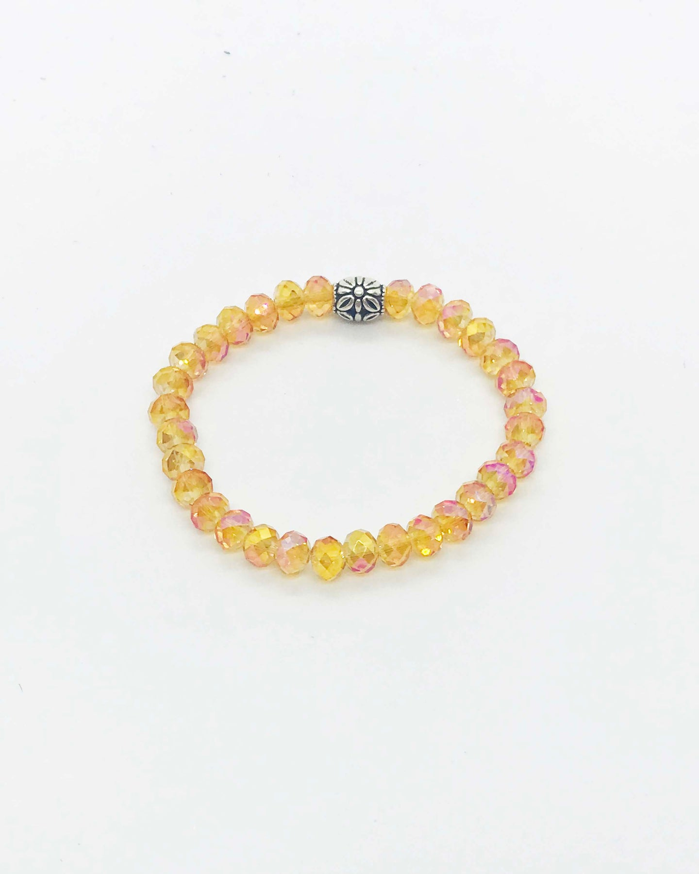 Glass Bead Bracelet - B570