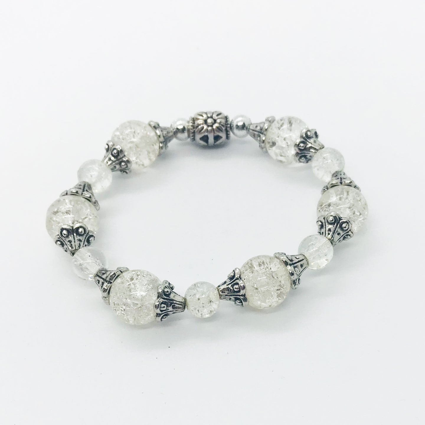 Glass Bead Bracelet - B596