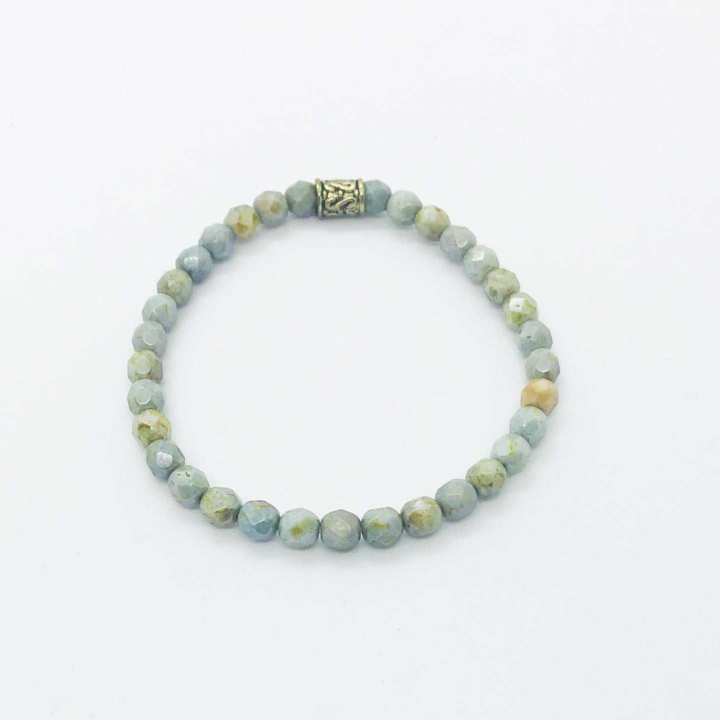 Glass Bead Bracelet - B618