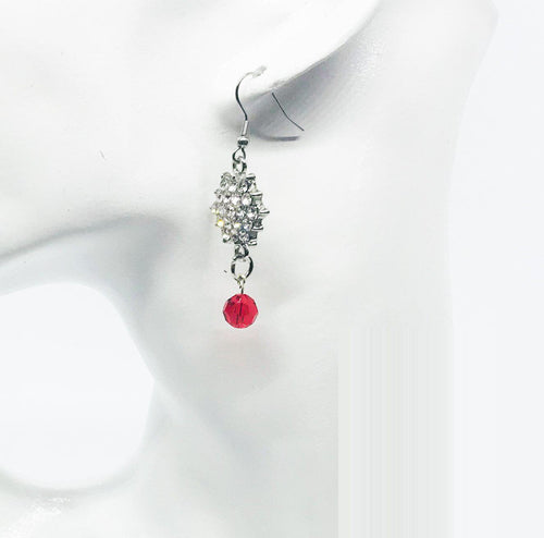 Glass Earrings - E643