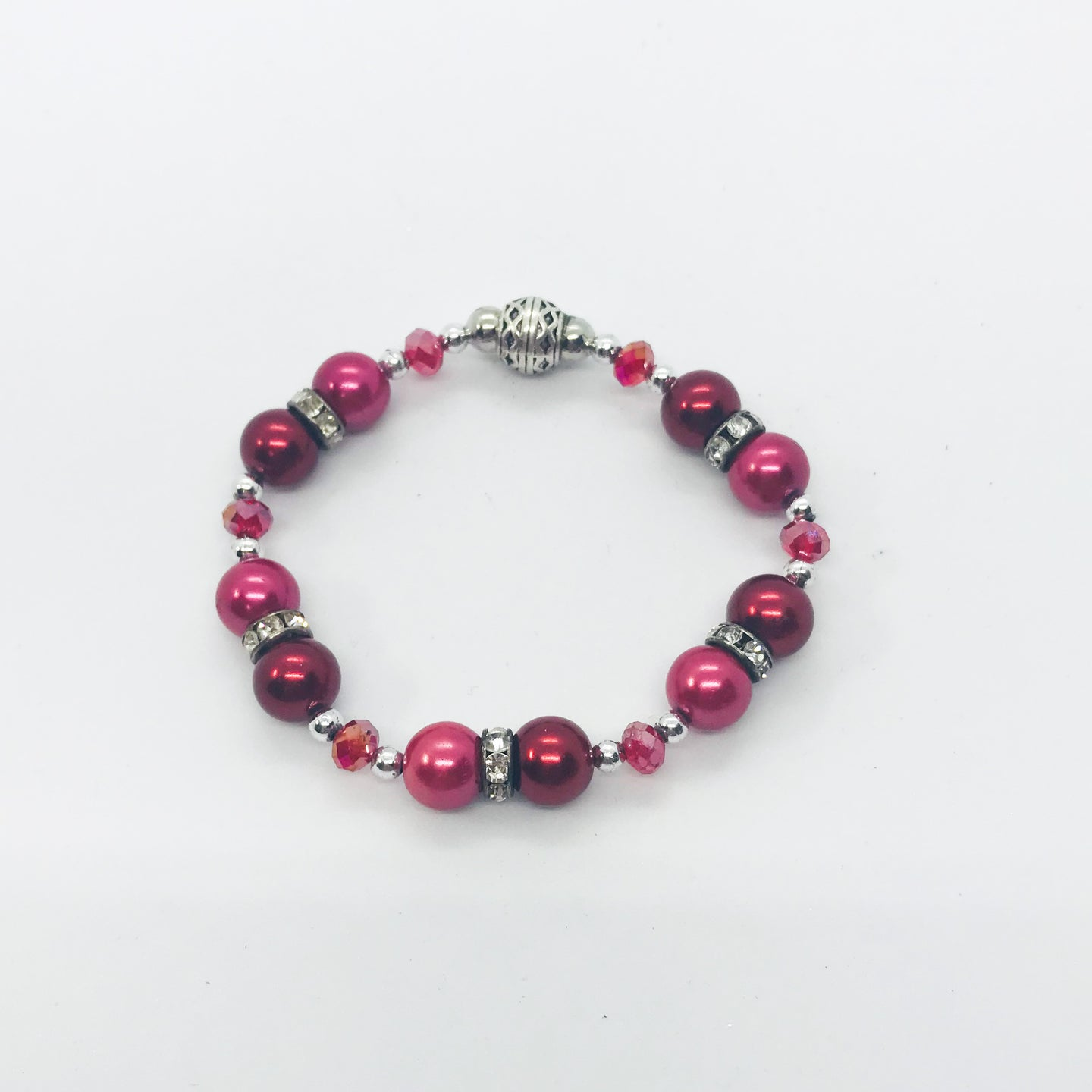 Glass Bead Bracelet - B651