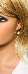 Rhinestone Dangle Earrings - E19-663