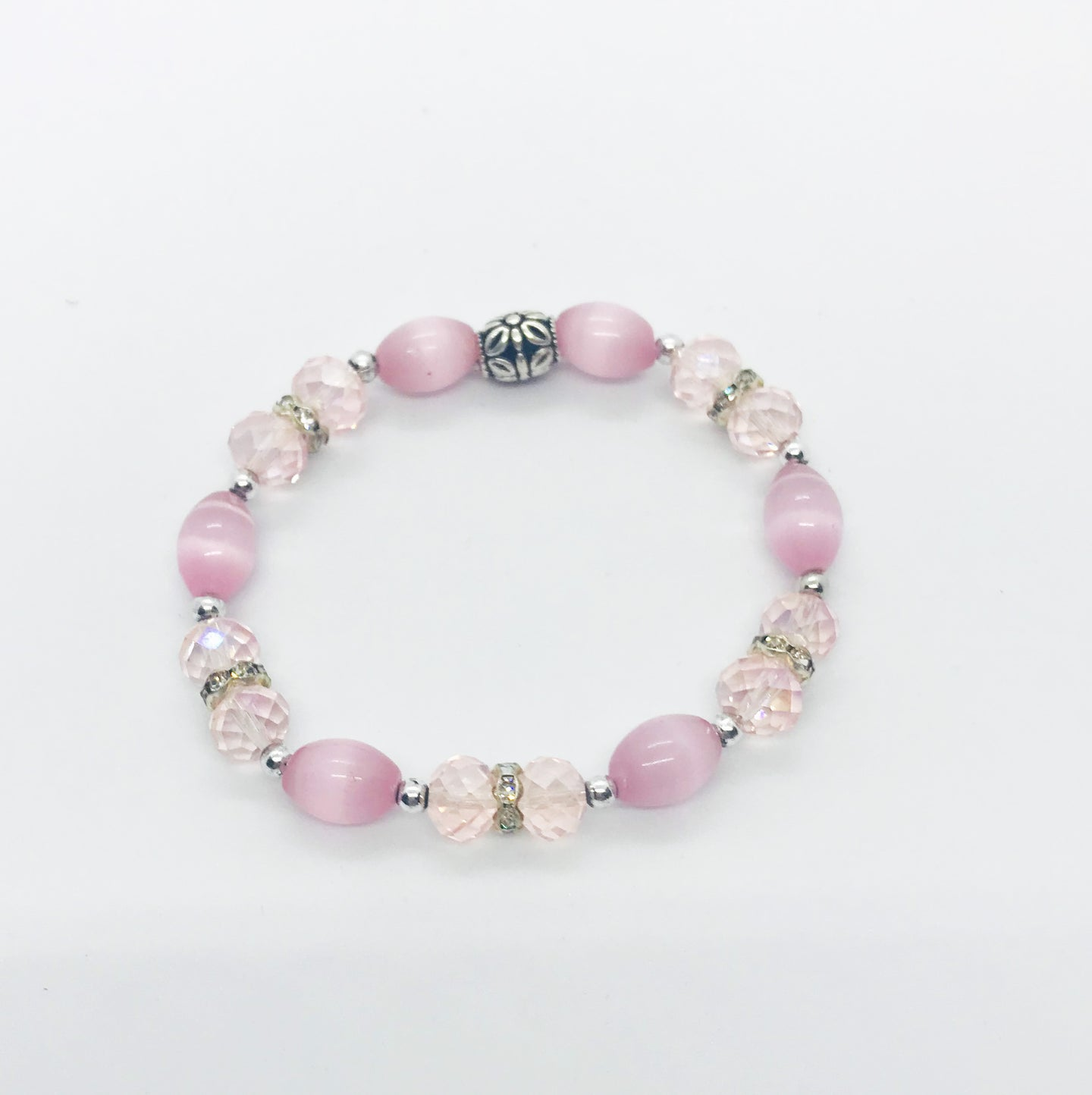 Glass Bead Bracelet - B668
