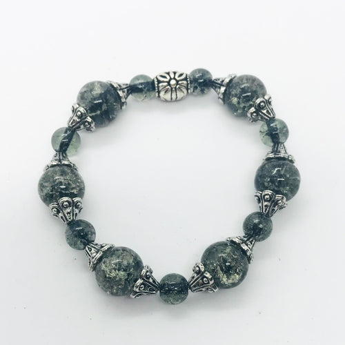 Glass Bead Bracelet- B670