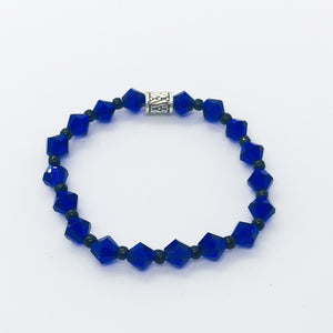 Glass Bead Bracelet - B694