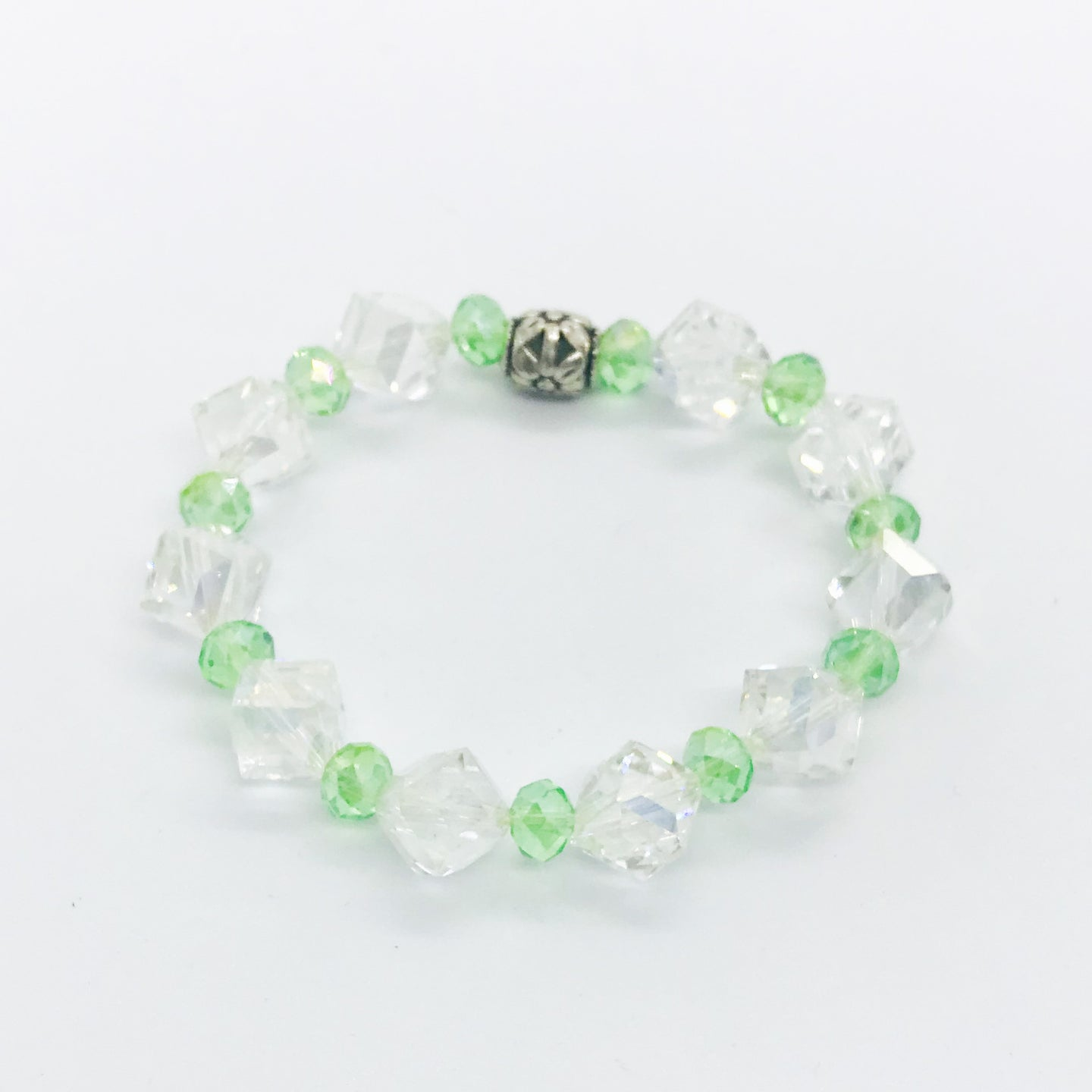 Glass Bead Bracelet - B741