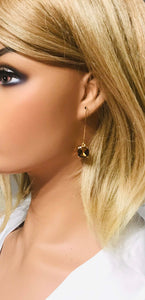 Rhinestone Dangle Earrings - E19-810