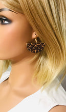Load image into Gallery viewer, Baby Cheetah Genuine Cork Leather Earrings - E19-820