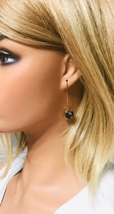 Rhinestone Dangle Earrings - E19-821