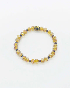 Glass Bead Bracelet - B822