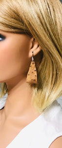 Genuine Ostrich Leather Earrings - E19-896