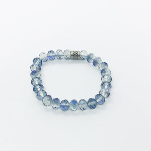 Glass Bead Stretchy Bracelet - B903