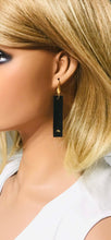 Load image into Gallery viewer, Black and Gold Portuguese Cork Earrings - E19-928