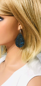 Turquoise Portuguese Cork Earrings - E19-934