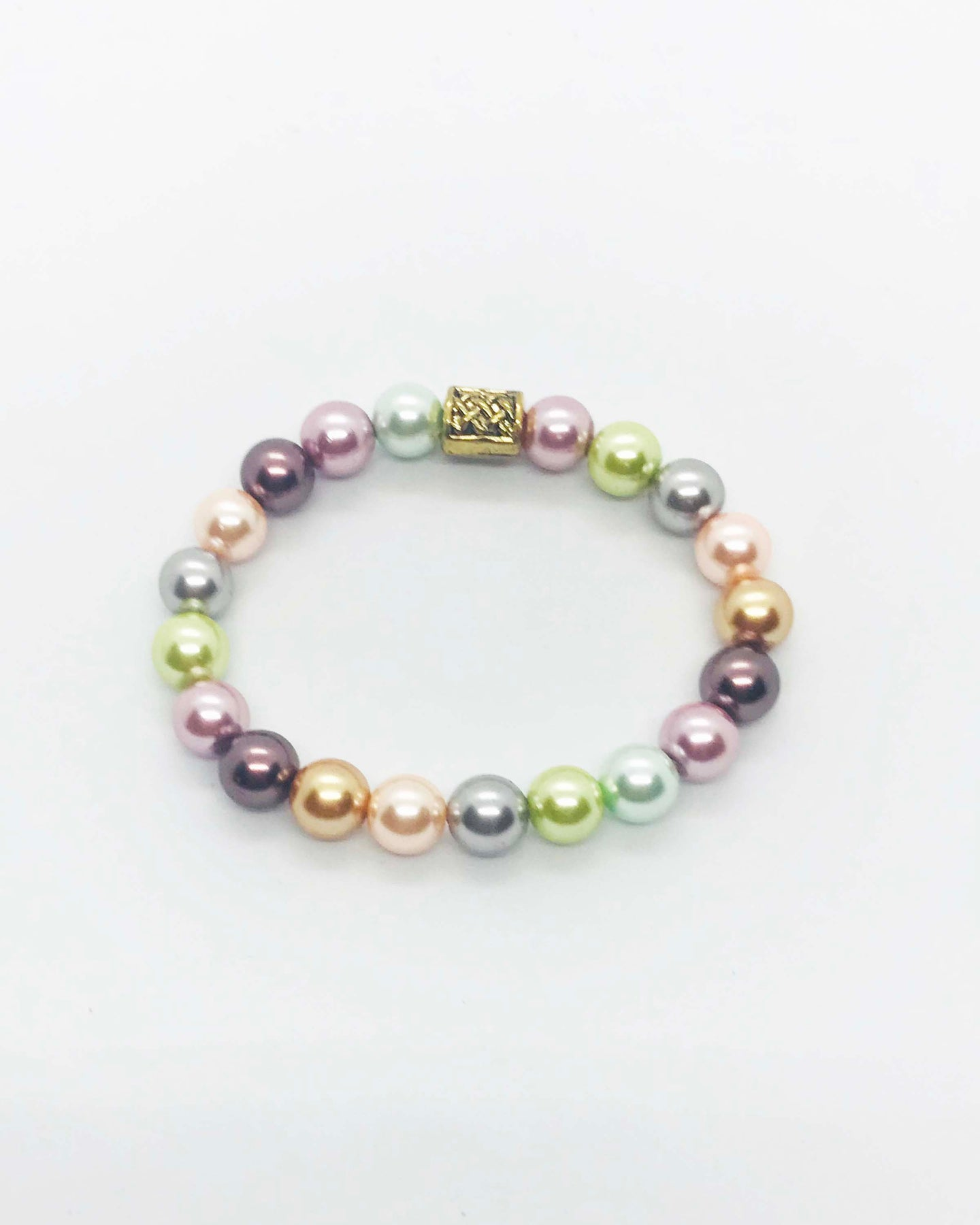 Glass Bead Bracelet - B957