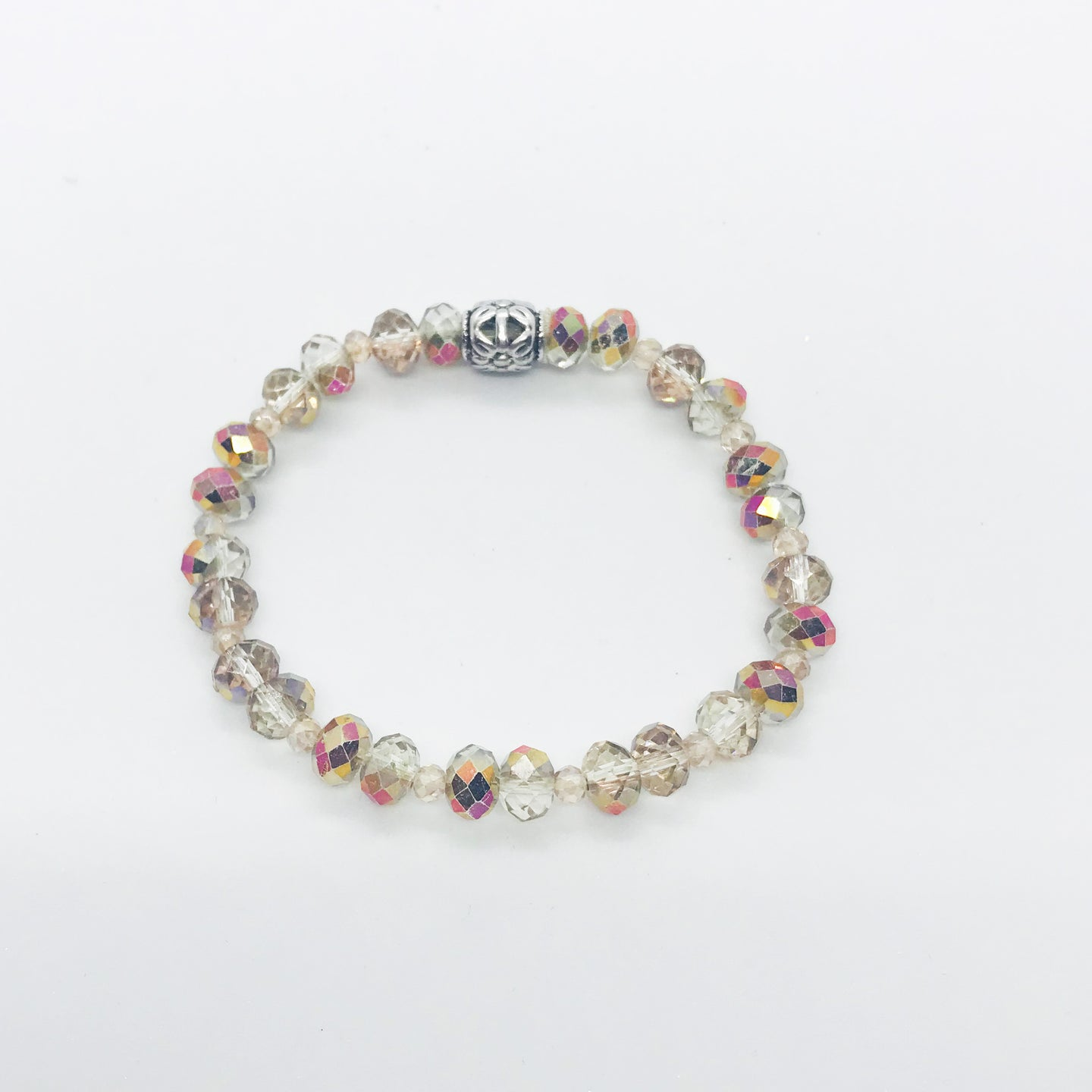 Glass Bead Bracelet - B975