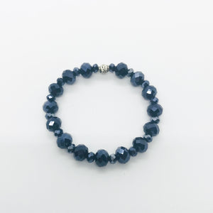 Glass Bead Stretchy Bracelet - B996