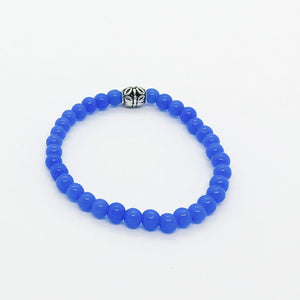 Glass Bead Stretchy Bracelet - B1045
