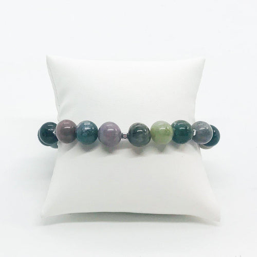 Fancy Jasper Stretchy Bracelet - B189