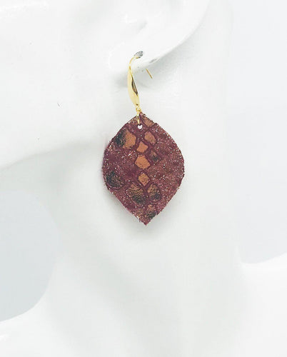 Youth Genuine Leather Earrings - E19-1061
