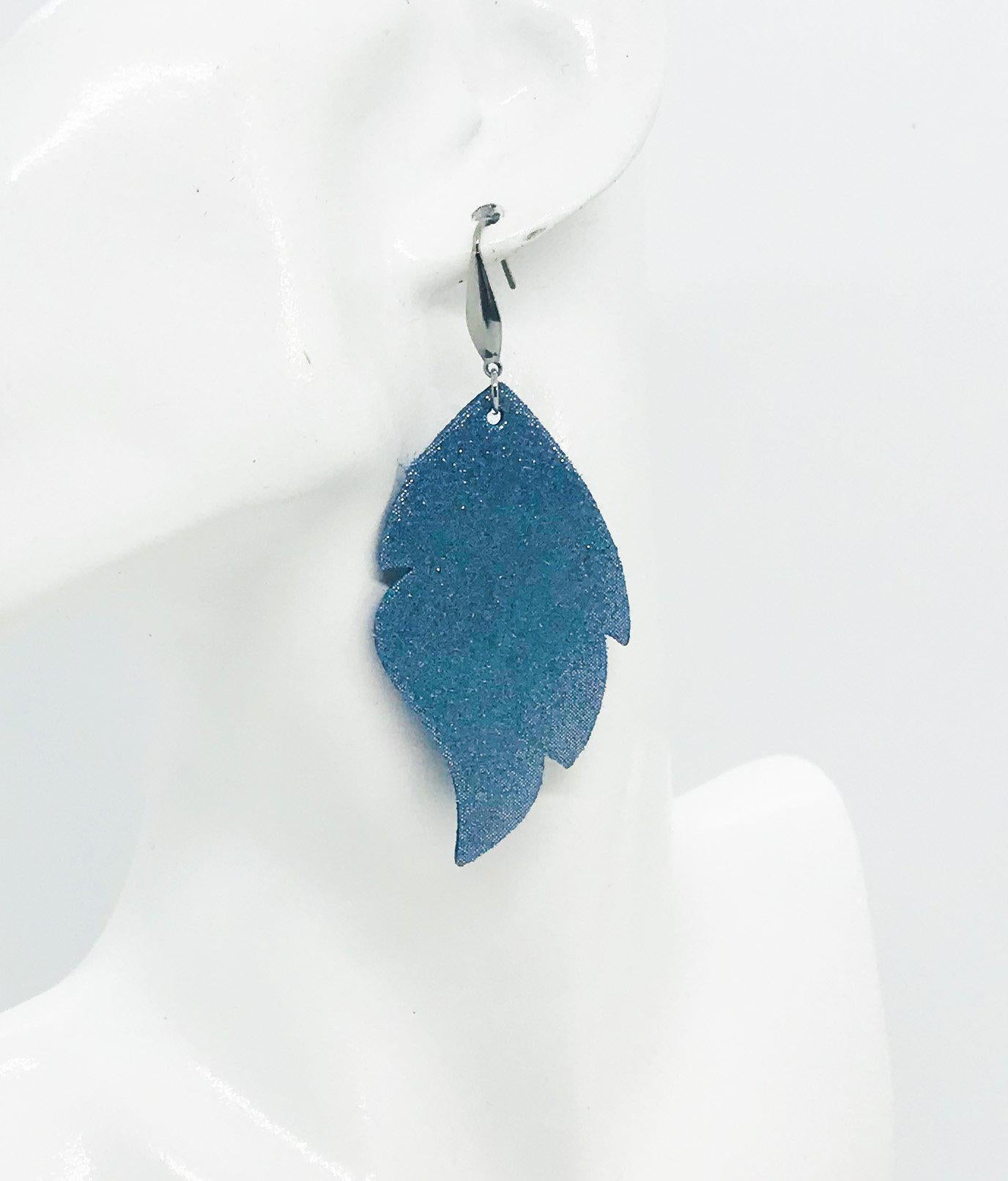 Iceberg Dazzle Leather Earrings - E19-1138