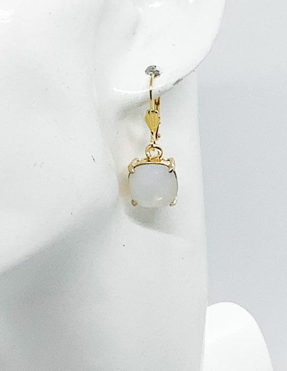 Rhinestone Dangle Earrings - E19-127