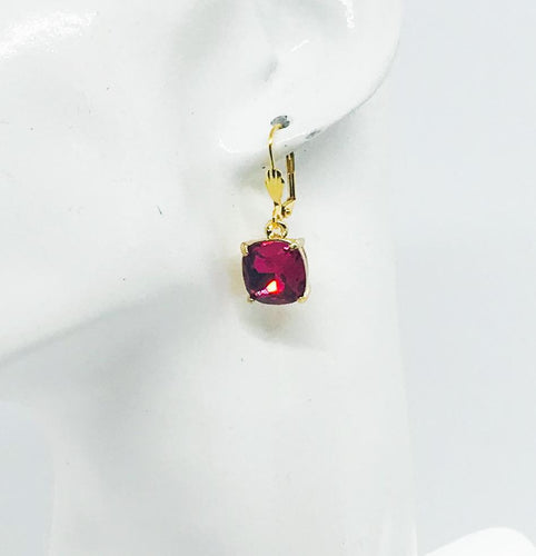 Rhinestone Dangle Earrings - E19-167