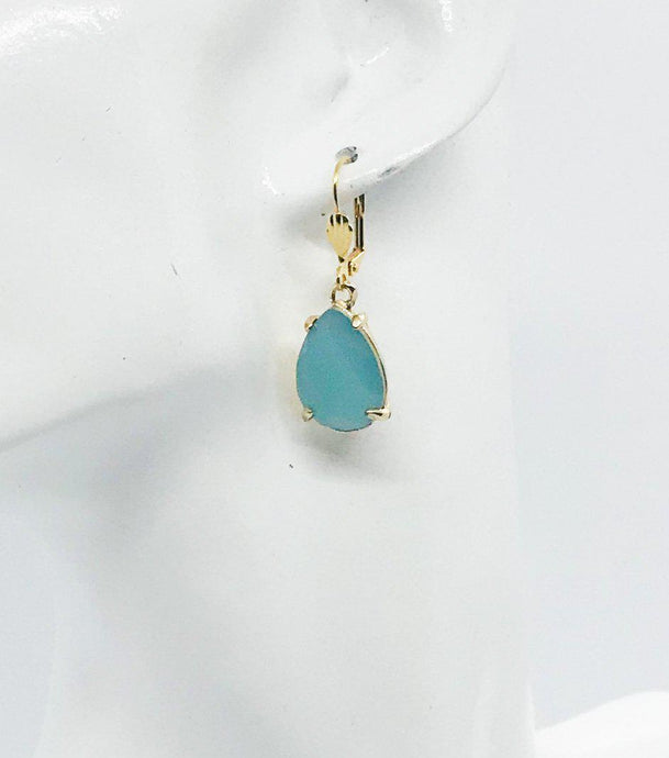 Teardrop Dangle Earrings - E19-168